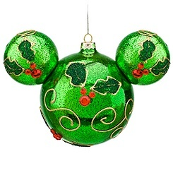 Mickey hollyDisney Christmas, Christmas Crafts, Christmas Stuff, Home Decor, Mickey Ornaments, Christmas Decor, Disney Ornaments, Christmas Ornaments, Mickey Mouse Ornaments