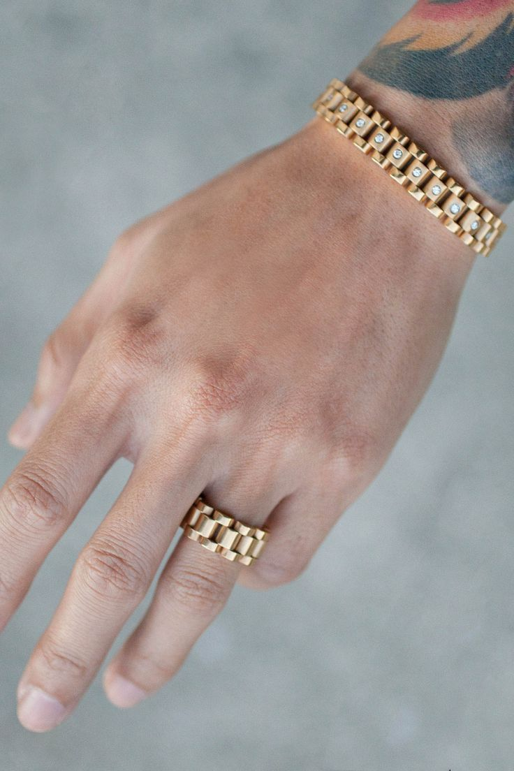 Mister Lynx Bracelet - Gold