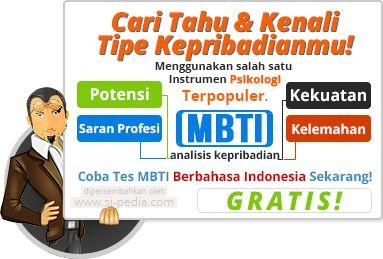 Tes Kepribadian MBTI Online Gratis Bahasa Indonesia.