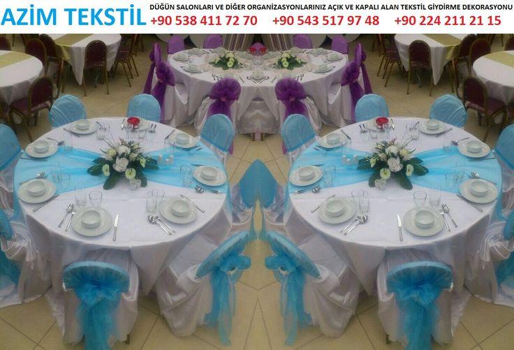 9 Bütün düğün salonları masa örtüsü ve sandalyeleri tekstil kumaş giydirme ve kumaş süsleme dekorasyonu tekstil firmaları İLETİŞİM : +90 532 797 08 20