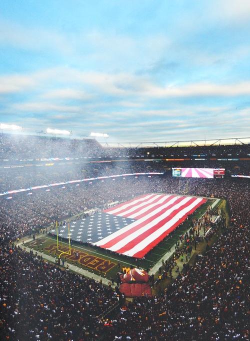 Bucket List #5: Watch a Redskins game at FedEx Field! :)
