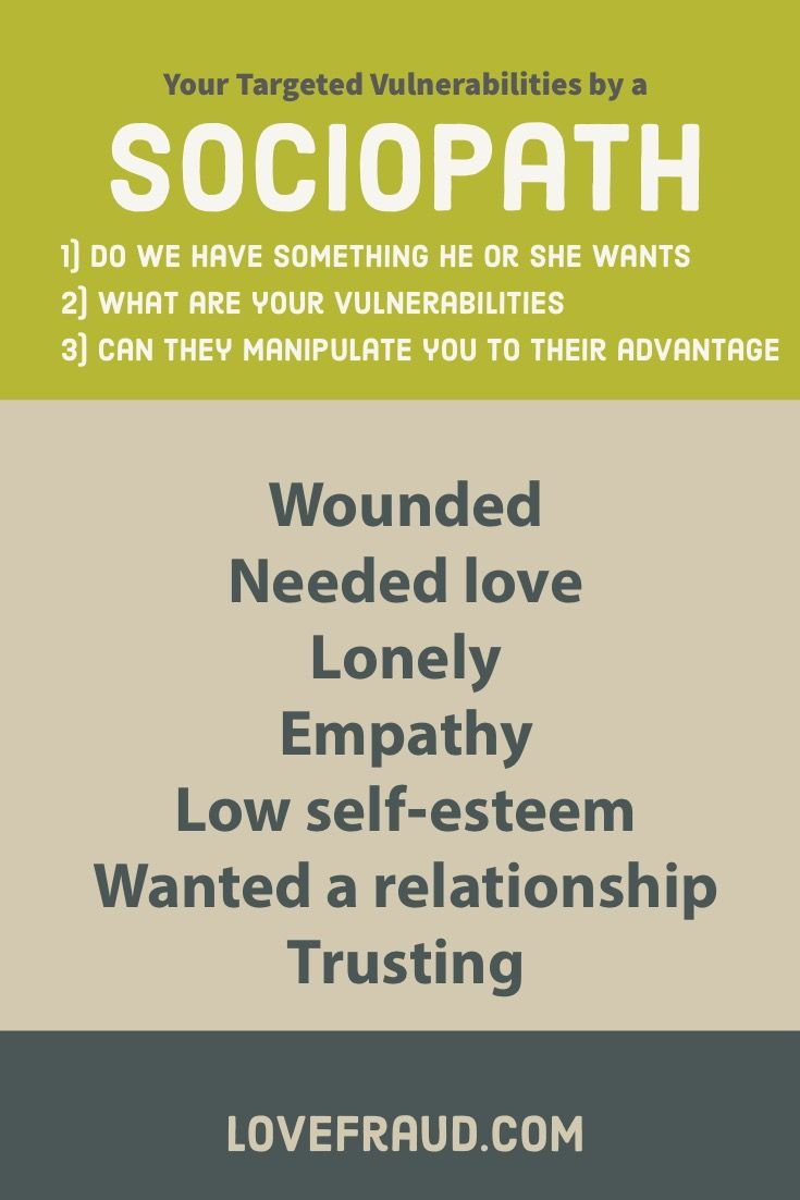 Lovefraud com - How to recognize and recover from sociopaths
