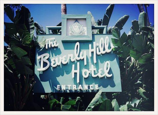 The Beverly Hills Hotel, Rodeo Drive, Hollywood, Los Angeles, California,  Anastasia, Mameg, Meche Salon, Maxfield Bleu, Evolué Beauty, Mr C...