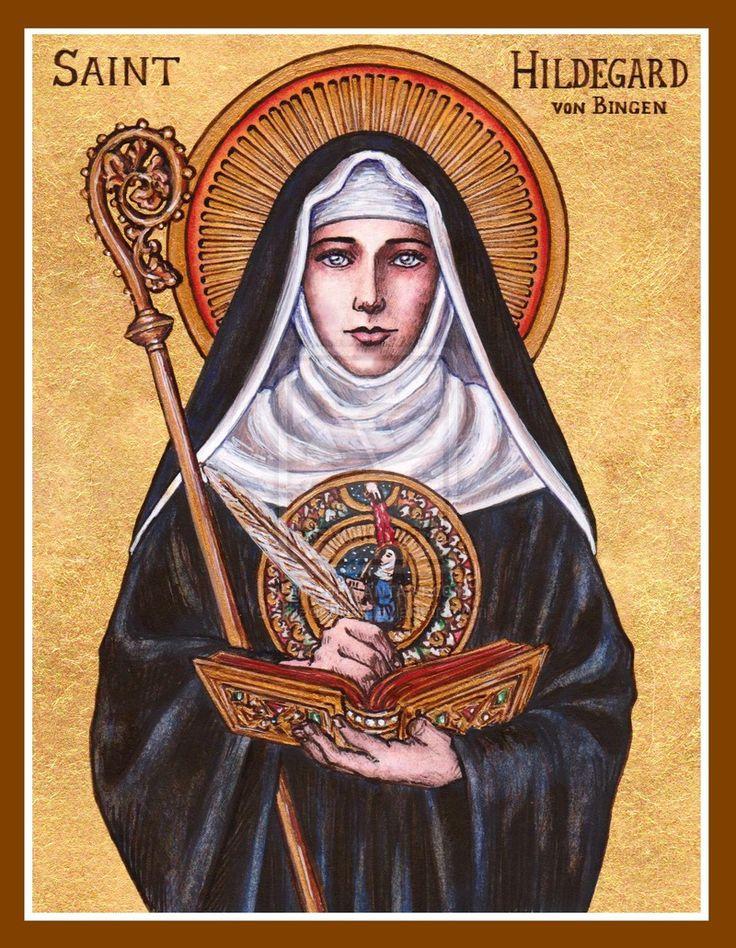 St. Hildegard von Bingen icon by Theophilia.deviantart.com on @deviantART