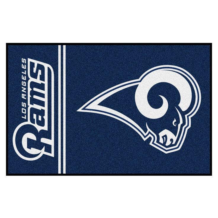 "NFL Los Angeles Rams Uniform Starter Rug 19""x30"""
