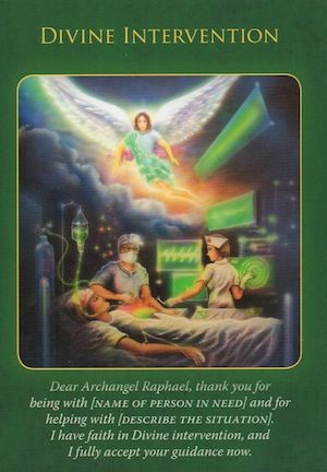 The angels are working behind the scenes to effect the miracle you've requested...