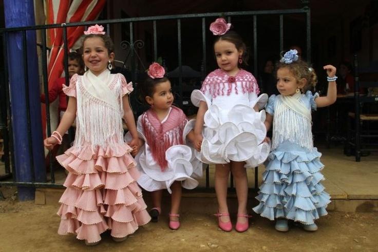 flamencas desde pequeñitas