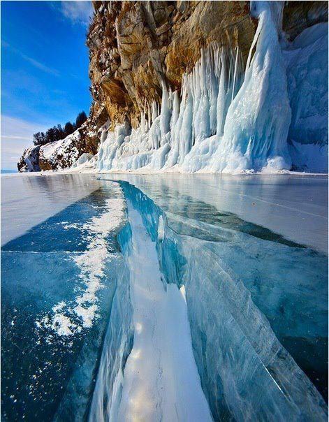 Lake Baikal, Rusia by Stas Tolstnev