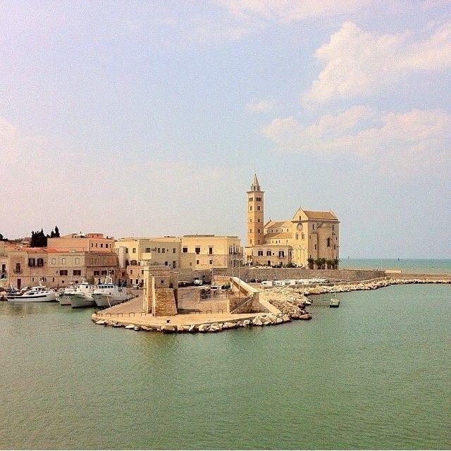 .@Tournelsud.com | La foto di @mimimatta ci porta a #Trani, alla sua imponente cattedrale, class... | Webstagram