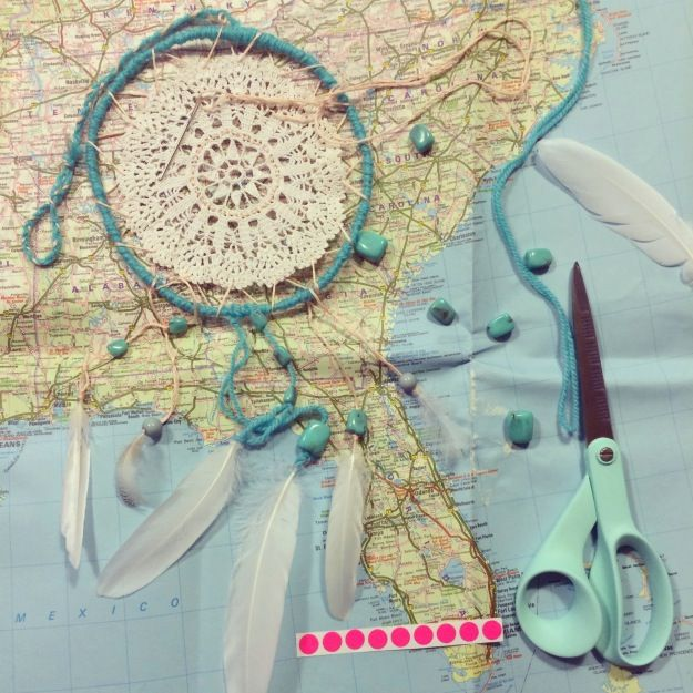365 mood boards in 2014. Mood board #59: The American Dream - Dream catcher for Florida. Photographer: Susanne Randers