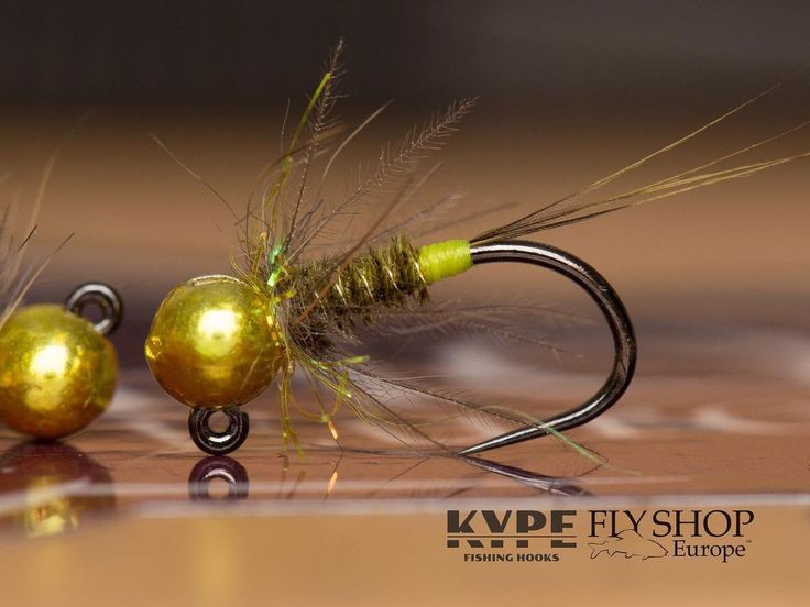 5 Orange Ribbed Thread Fly Nymphs Barbless Jig Hook Size 14 Tungsten Gold 3.5mm