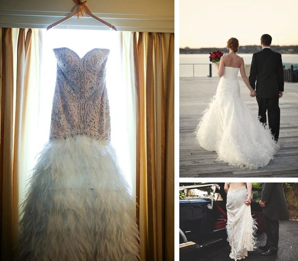 Best 25 feather wedding dresses ideas on pinterest for Wedding dress with feathers on bottom