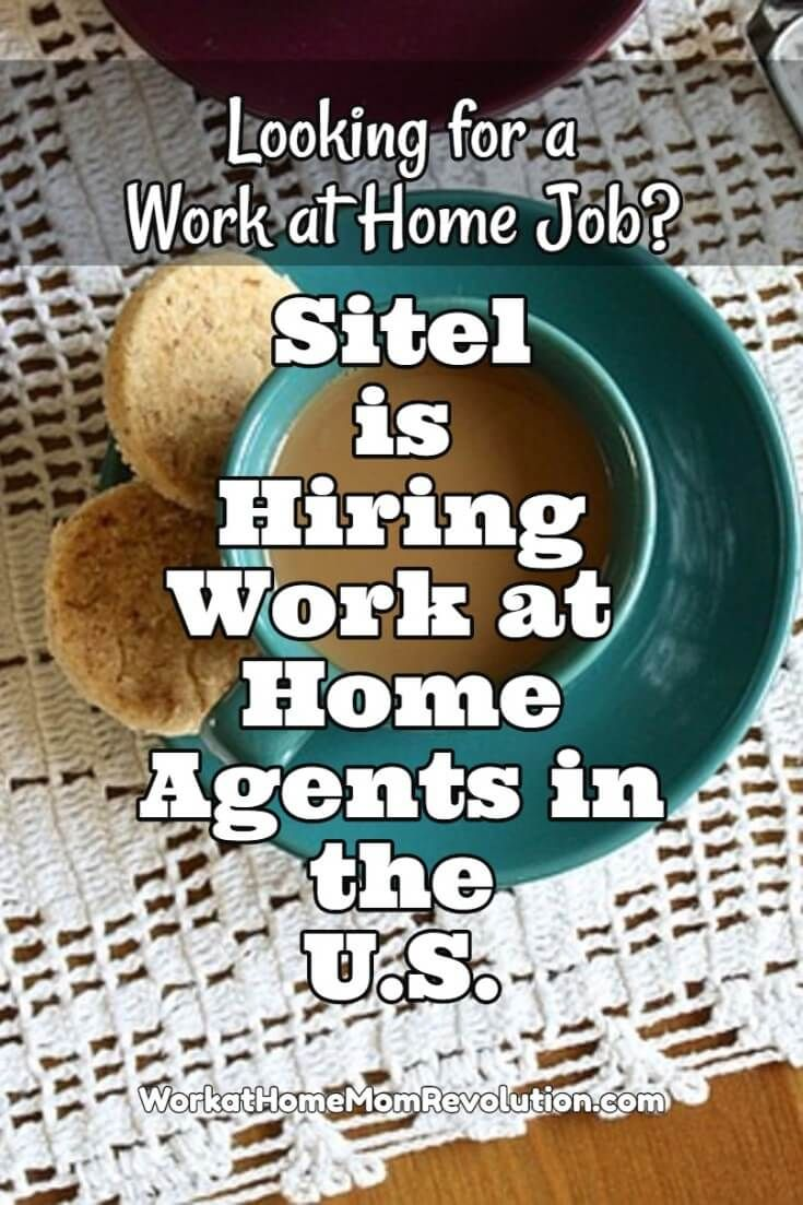 Sitel is hiring work at home agents in the United States! Training for these work from home positions is paid. Schedules are set. Hours are 30 to 40 per week. Awesome home-based opportunity! You can make money from home!