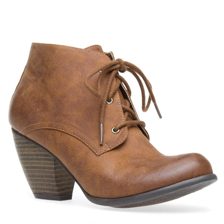 Great brown lace-up