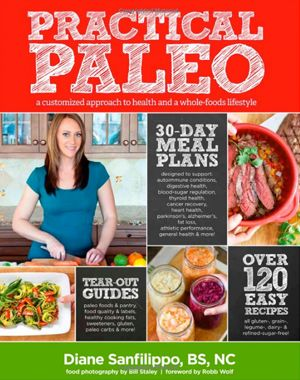Practical Paleo--I got into paleo cookbooks as a vegetarian, because they often have really good non-dairy recipes for candy. This book has some great recipes for vegetables. Love the roasted butternut squash and kumquats.