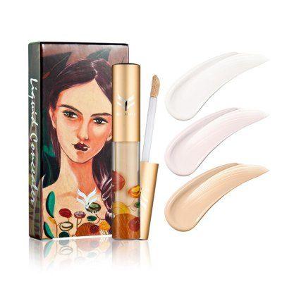 HUAMIANLI Liquid Face Base Brightening Skin Full Cover Concealer $9.90
