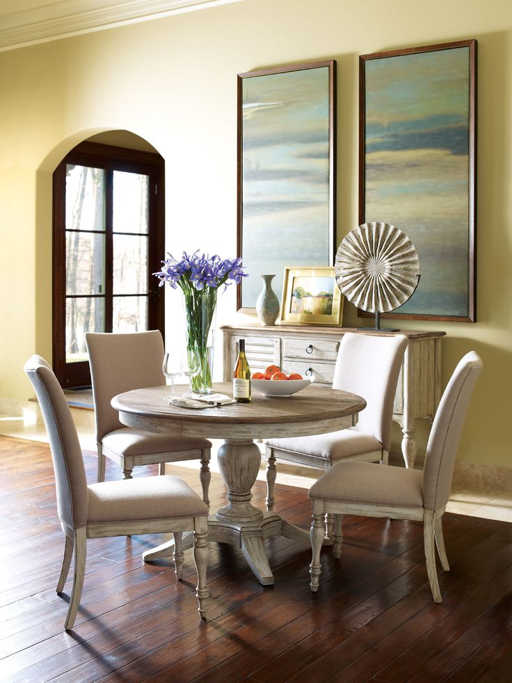 Kincaid Furniture Milford Round Dining Table Pkg 75-052P