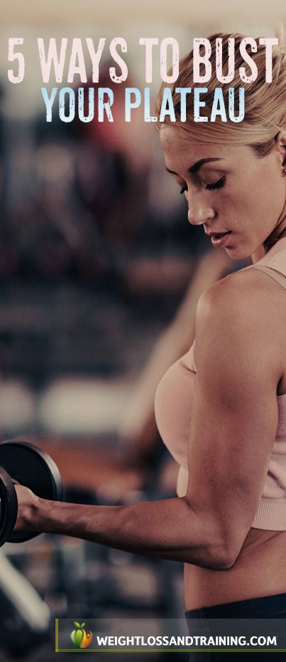 5 Ways to Bust Your Plateau: Advanced Weight Lifting Techniques https://weightlossandtraining.com/weight-lifting-techniques #workout #iftness