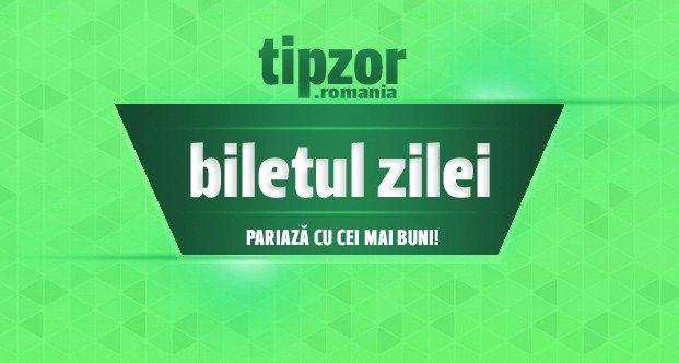 Biletul Zilei – 13.09.2016 – Dubla de cota 2.50 - Tipzor