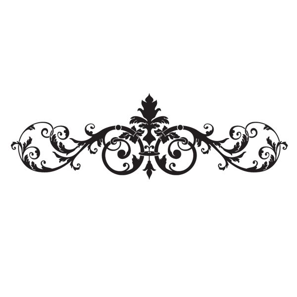possible wall stencil for our bedroom. plum on off-white walls & off-white on plum wall? SD-010