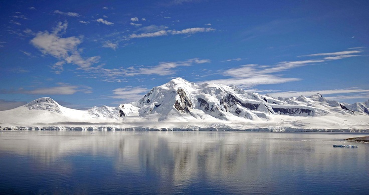 Calm waters Antarctica