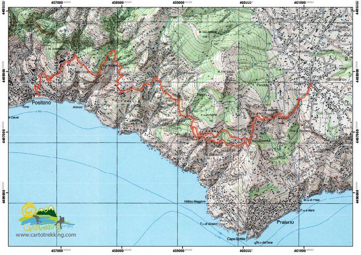 Percorso guidato da Agerola a Positano, con paesaggio mozzafiato da Positano a Capri con i faraglioni, lungo il sentiero degli dei di Positano