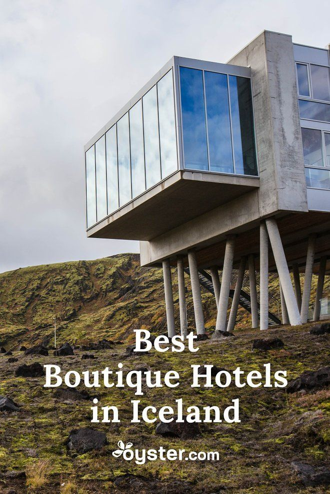 Thrill-seeking design nerds, this one's for you. We've compiled a list of the best boutique hotels in Iceland, from a geothermally-powered adventure hotel in a remote mountaineous lava field to a downtown Reykjavik property with a moody, Nordic-minimalist look inspired by the stark Icelandic landscape. #Iceland #BoutiqueHotels #Wanderlust #traveltips