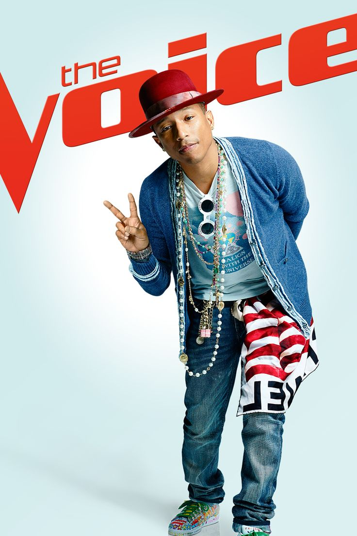 Ready for more sage advice, inspiration & overall enlightenment? Watch Pharrell Williams on The Voice's Season 8 premiere February 23, 2015 at 8/7c on NBC!
