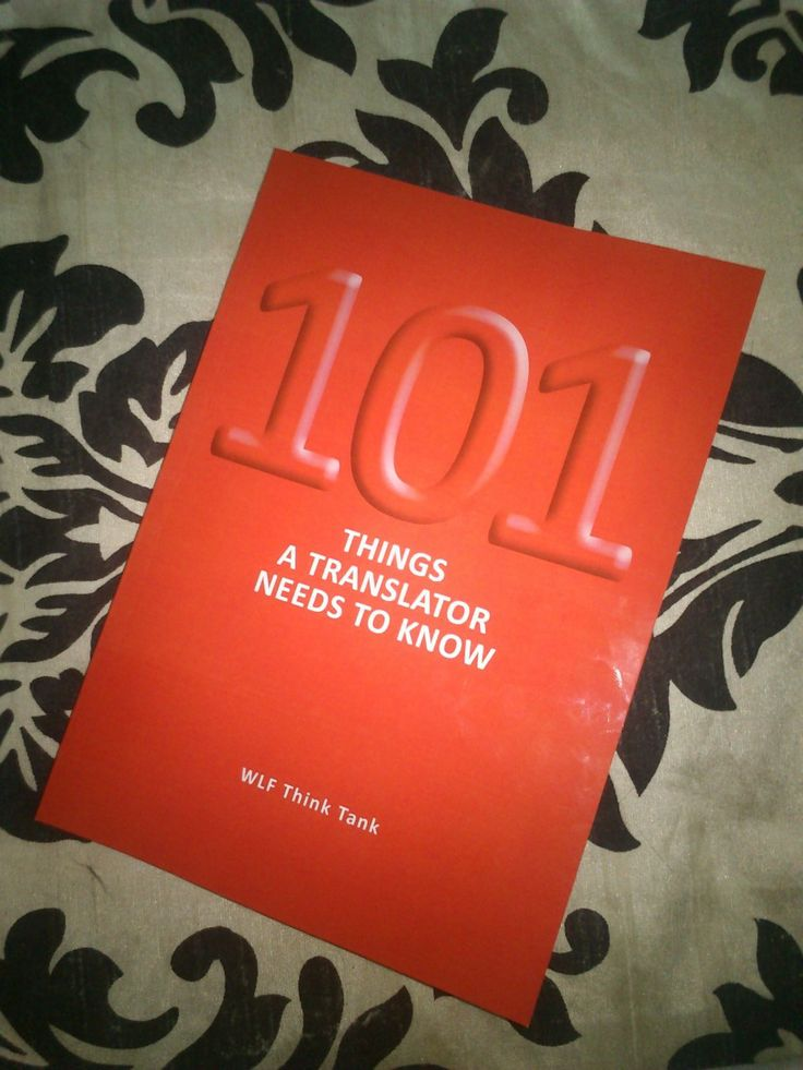 101 things translators need to know - book review