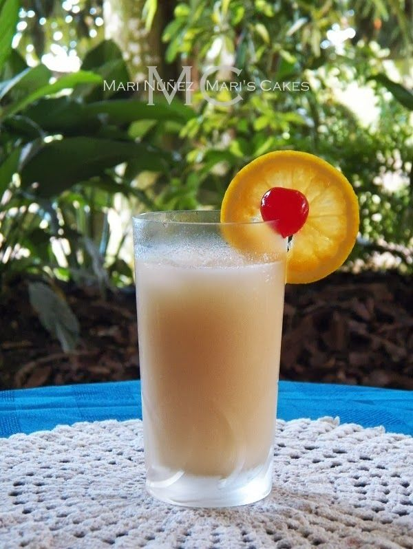 Dominican Mexican Food Recipe Orange Drink