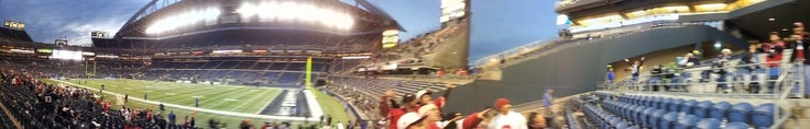 Century Link Field Panoramic