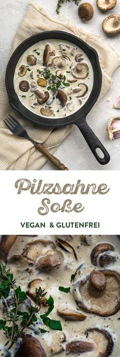 casserole de champignons végétalien à la crème   – Vegan