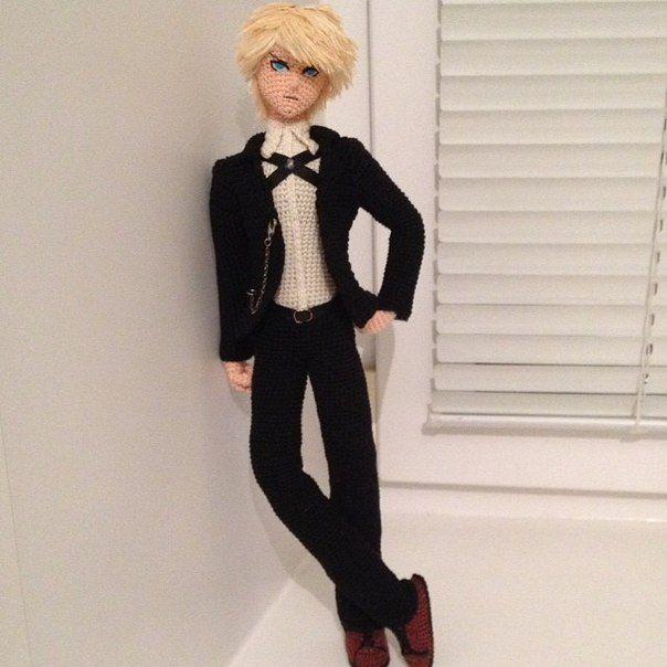 Amigurumi boy doll. (Inspiration).☆