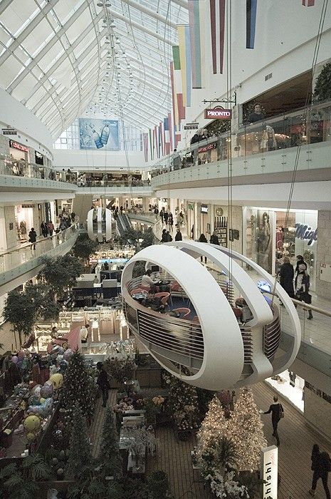 What are different types of mall shoppers?