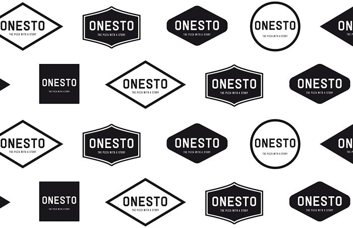 Onesto - Logo patroon | by Skinn Branding Agency