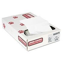 Jaguar Plastics - Industrial Strength Commercial Can Liners, 56gal, .9mil, White -  100/Carton