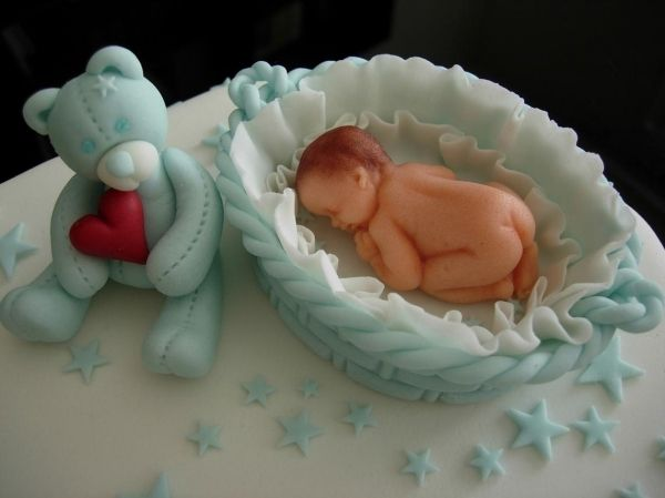 baby shower cake  Cake in Blue