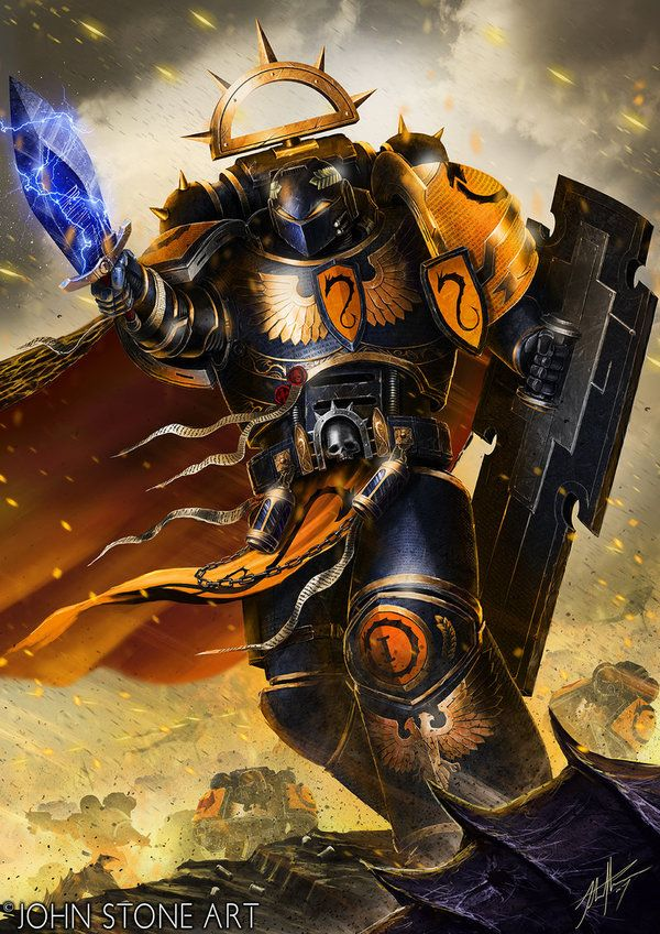Myrmidon Warhammer 40k, wh art, фан-арт, adeptus astartes