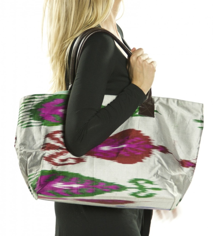 Live Indian Ikat Bag