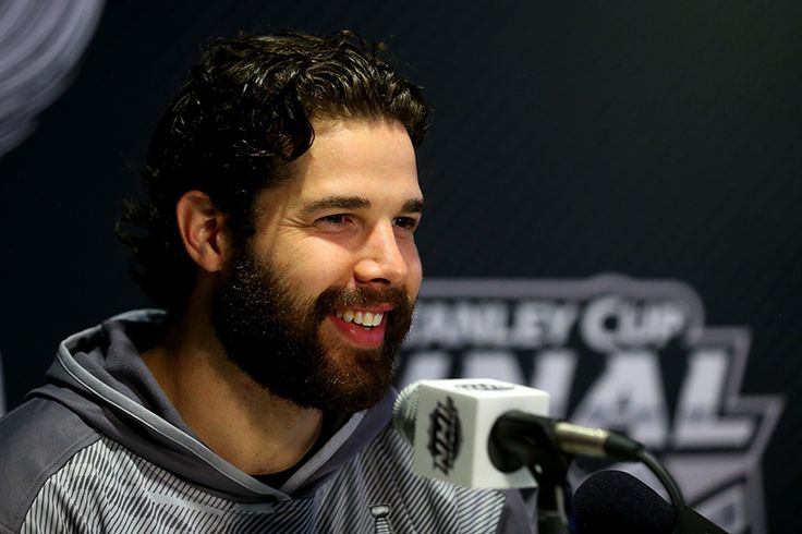 Corey Crawford at Media Day on June 2, 2015.