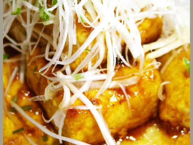 目指せ1位!豆腐ステーキにんにくバター味の画像
