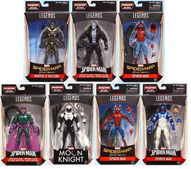 Amazing Spider-Man Marvel Legends Wave 8 In Stock