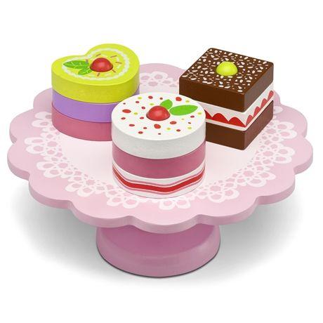 Kjøp Micki Kakefat med Bakverk   Leker Miniatyrhjem   Jollyroom