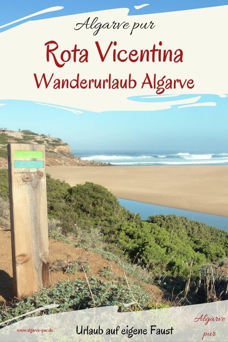 """Wandern in der Algarve: Entlang der Westküste der Algarve verläuft der Fernwanderweg """"Rota Vicentina"""" durch die einzigartige Natur des Naturparks """"Costa Vicentina"""". Wanderführer zum Herunterladen!"""