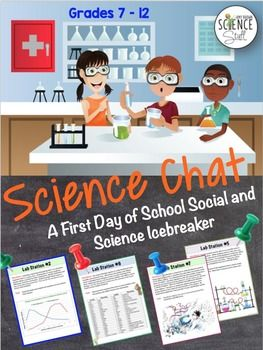 Science Chat:  The first day of school should be fun, not boring!   This science lab icebreaker activity will help your students learn about their classmates, while serving as a diagnostic tool for the instructor. Do you want to be the fun teacher, or the one who reads the class syllabus out loud on the first day of school?