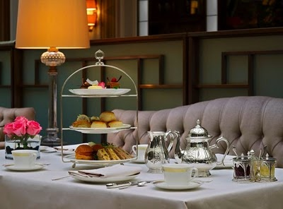 High Tea at the Dorchester, London