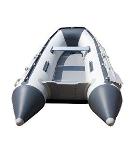 Amazon.com : Newport Vessels 8-Feet 10-Inch Dana Inflatable Sport Tender Dinghy Boat - USCG Rated (White/Gray) : Inflatble Dinghy : Sports & Outdoors
