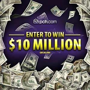 Publisher Clearing House 10 Million Sweepstakes - Giveaway No. 8800