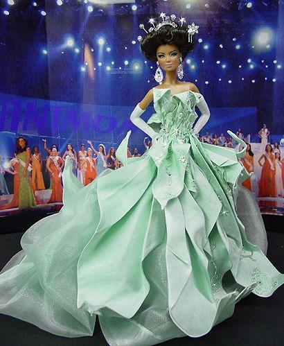 OOAK Barbie NiniMomo's Miss Chicago 2007
