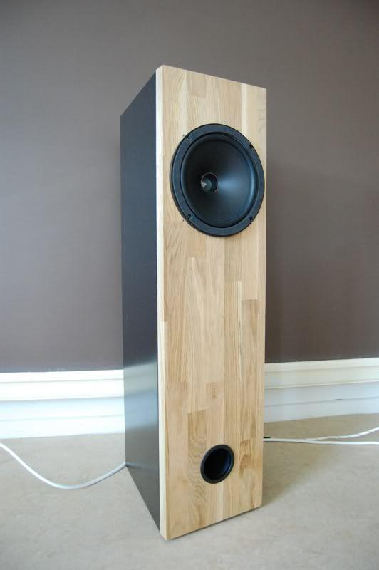 Clean looking full-range speaker.